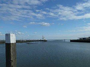 Hafen und Seezeichen